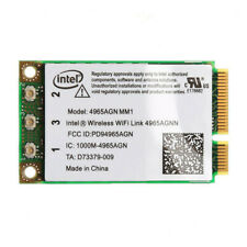 Mini PCI-E Card Intel Wireless WiFi Link 4965AGN a/b/g/n 300Mbp Dual Band MIMO