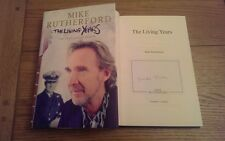 The Living Years SIGNED Mike Rutherford HB Book 1st Edition Autobiograpy Genesis