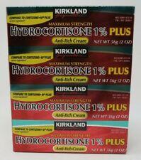 Kirkland Signature Maximum Strength HYDROCORTISONE 1% Plus 8oz, Anti-Itch Cream