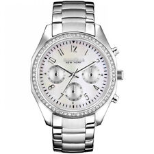 Caravelle New York Ladies' Melissa Chronograph Watch 43L159