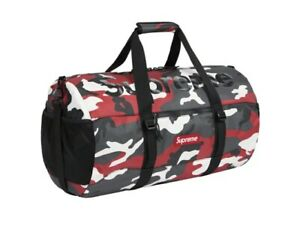 Supreme SS21 Duffle Bag Red Camo 🔥 Brand New IN HAND Free Shipping