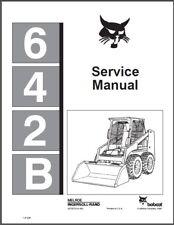 Bobcat 642B Skid Steer Loader Service Manual on a CD  ---  642 B