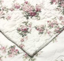 Simply Shabby Chic Blooming Blossoms (1) Euro Pillow Sham Quilted Rachel Ashwell