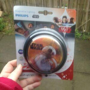 Philips Star Wars BB-8 LED Night Push Light Childrens Kids