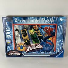 Ravensburger - Marvel Ultimate Spider-Man and His Team, 100 XXL Pcs Puzzle