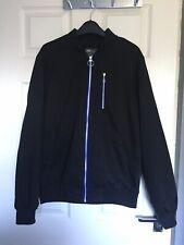 ASOS Men's Black Lined Bomber Jacket Size M