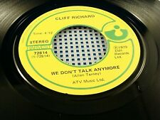 CLIFF RICHARD - We Don't Talk Anymore / Rock & Roll Juvenile - 1979 NEAR MINT 45