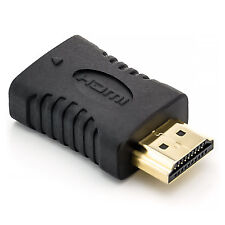 HDMI CEC less Adapter Typ A Stecker auf Buchse PIN 13 ohne non CEC Kupplung TV