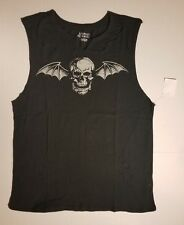 Avenged Sevenfold A7X Mens Womens Sleeveless TShirt Muscle Tank Top M to L NEW