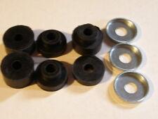Triumph  Motorcycle gas tank rubber set 6 pc& 3 washers, Free ship to USA stk149