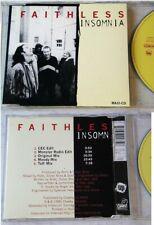 FAITHLESS Insomnia .. 1998 Cheeky Intercord Maxi CD TOP