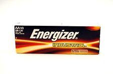 10 x Energizer AA Industrial Battery Alkaline Long Expiry Date