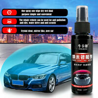 Anti Scratch Car Liquid Ceramic Coat Super Hydrophobic Glass Spray Coating 120ML