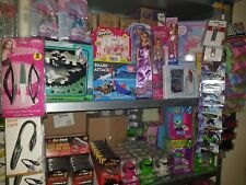 JOB LOT 15 MIXED ITEMS WHOLESALE BOX OF TOYS & GIFTS HOME GAMES TORCHES NEW