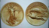 3 FOR 1 PRICE 1907 MINI ST GAUDENS GOLD COINS 1/2 GRAM BULLION FREE SHIPPING