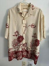 Havanera Cuban Shirt XL Rayon Floral