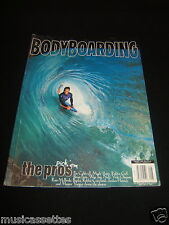 BODYBOARDING MAGAZINE USA AUGUST 1996 BODY BOARDING BODYBOARD