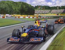 2009 German Grand Prix Nürbirgring, Red Bull Racing Webber door Michael Turner