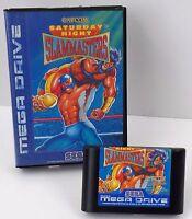 Sega Mega Drive MD - Saturday Night Slammasters + OVP