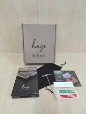 Haze 17-Key Solid Rosewood Kalimba MBIRA Thumb Piano w/Tutorial Manual HSH-01R