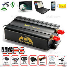 TK103B Vehicle Car GPS SMS GPRS Tracker RealTime Tracker Device System Remote US