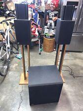 Miller & Kreisel VX-4 M&K  subwoofer speakers And Ax-4 Speakers