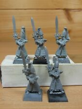 5 CLASSIC METAL HIGH ELF SWORD MASTERS OF THE HOETH BASE PAINTED (1572)