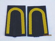 Marine rango cinghie: sottotenente, oro/blu