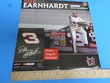 #3 DALE EARNHARDT SR. 2013 NASCAR CALENDAR (NEW IN WRAP)  MAGNET INCLUDED
