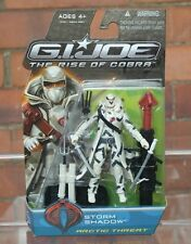 Action force/Gi Joe Rise of Cobra sealed Artic Threat Storm Shadow figure