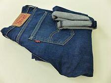FB1239 Men Levi Strauss & Co 508 Blue Tapered Jeans Size W29 L32