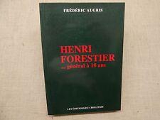 Henri Forestier ...Général a 18 ans Frédéric Augris Vendée Révolution Française