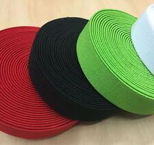 New Sale 10 Meters Costume Accessories Double Sided Twill Elastic Band 25mm
