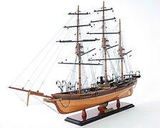 "CSS Alabama Wooden Steam Tall Ship Model 32"" Civil War Confederate Raider New"