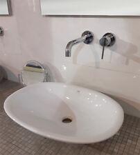 Lavabo lavandino da bagno ovale da appoggio Rak Morning mm.380x540 bianco