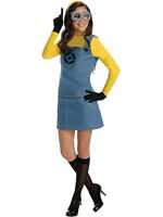 Official Ladies Adult Despicable Me Minion Halloween Fancy Dress Costume Outfit