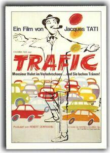 TRAFIC ♦ 1971 ♦ CINEMA Filmkarte ♦ Jacques Tati ♦ Marcel Fraval ♦ Maria Kimberly
