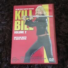 Kill Bill Volume 2 Dvd.