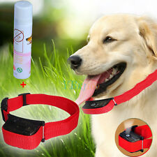 Pet Stop Barking Anti Bark Training Trainer Device Control Collar w/ Spray Dog