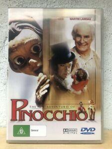 Pinocchio DVD The New Adventures of - Martin Landau, Udo Kier