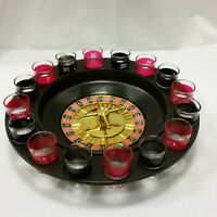 Roulette Trinkspiel Partyspiel Silvester Casino Schnapsgläser Saufspiel