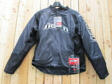 ICON Women's H2 Glam Motocross Jacket Motorcycle 2XL Zip Out Lining NWT Black