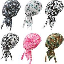 NEW 6 Piece Chemo Head cover up  Pre Tied CAMO Scarf Wraps Cancer Hair loss
