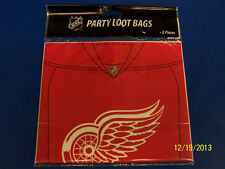 Detroit Red Wings NHL Hockey Sports Banquet Party Favor Treat Sacks Loot Bags