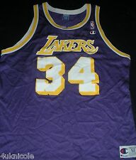 Champion Los Angeles Lakers Shaquille O'neal NBA Basketball Jersey purple 52