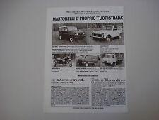 advertising Pubblicità 1982 UAZ 469 B/452 PULMINO/AUTOCARRO/LADA NIVA 2121/DNEPR