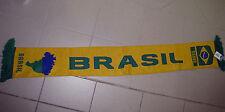 Fußball Fan-Artikel  Fan  Schal  BRASILIEN  gelb, 150 cm lang