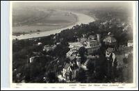 DRESDEN um 1940 Luftbild Bad Weisser Hirsch Luisenhof Fliegeraufnahme alte AK