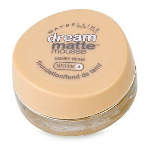 Maybelline Dream Matte Mousse Foundation  HONEY BEIGE medium 4