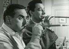 PAUL MEURISSE JACQUES MARIN LE MONOCLE NOIR 1961 PHOTO ANCIENNE ARGENTIQUE N°1